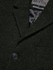 Brixtol Textiles - Ian - ullfrakker - olive - 7