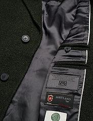 Brixtol Textiles - Ian - ullfrakker - olive - 9