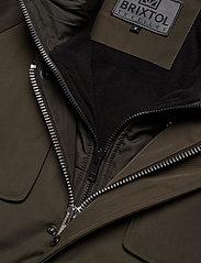 Brixtol Textiles - Livingstone - parkas - olive - 17