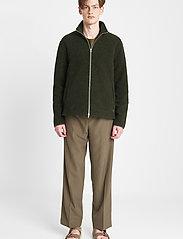 Brixtol Textiles - Seven - basisstrikkeplagg - olive - 0