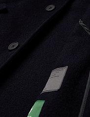 Brixtol Textiles - Erol Wool - wollen mantels - navy - 5