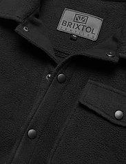 Brixtol Textiles - Frank Fleece - overdeler - black - 8