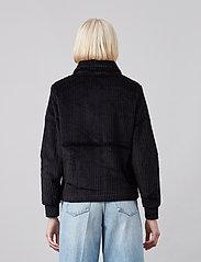 Brixtol Textiles - Eve Cord - lichte jassen - black - 3