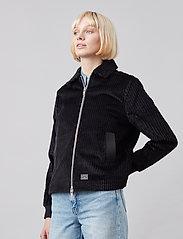 Brixtol Textiles - Eve Cord - lichte jassen - black - 4