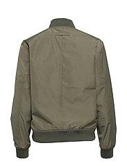 Brixtol Textiles - A.J Reversible - bomber jakker - black/light olive - 6