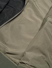 Brixtol Textiles - A.J Reversible - bomber jakker - black/light olive - 14