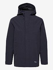 Brixtol Textiles - Sean - parka's - carbon navy - 1