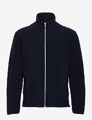 Brixtol Textiles - Seven - basisstrikkeplagg - navy - 1