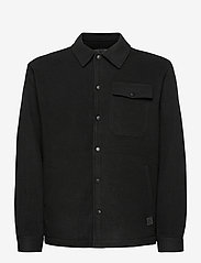 Brixtol Textiles - Frank Fleece - overdeler - black - 2