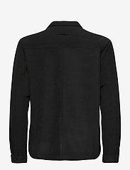 Brixtol Textiles - Frank Fleece - overdeler - black - 3
