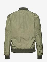 Brixtol Textiles - A.J Reversible - bomber jakker - black/light olive - 2