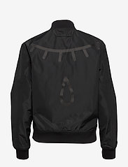 Brixtol Textiles - A.J Reversible - bomber jakker - black/light olive - 4