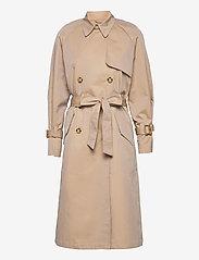 Brixtol Textiles - Viw - trenchcoats - sand - 1