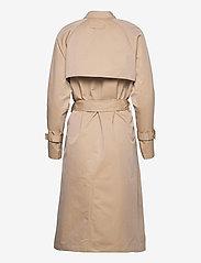 Brixtol Textiles - Viw - trenchcoats - sand - 2