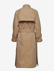 Brixtol Textiles - Viw - trenchcoats - sand - 3