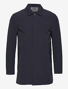 T-Coat Stretch - tynnere frakker - carbon navy