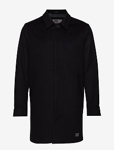T-Coat Wool - BLACK