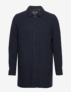 T-Coat Wool - ullfrakker - navy