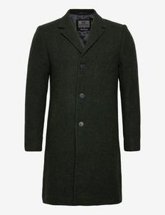 Ian - manteaux de laine - olive