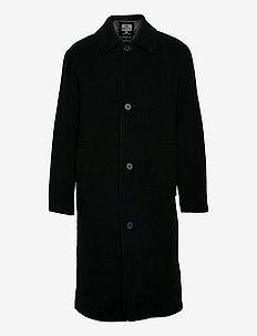 Gil - manteaux de laine - black