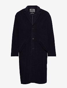 Erol Wool - wool coats - navy