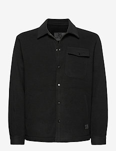 Frank Fleece - overdeler - black