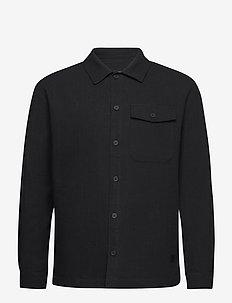 Frank Linen - tops - black