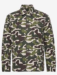 Frank - overshirts - bt camo