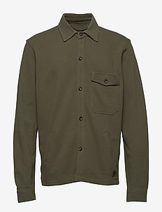 Frank Piquet - chemises décontractées - light olive