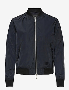 A.J - bomber jackets - dark navy
