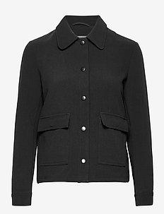 Sissel - lichte jassen - black