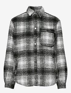 Ally - overskjorter - black/white check