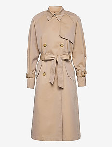 Viw - trench coats - sand