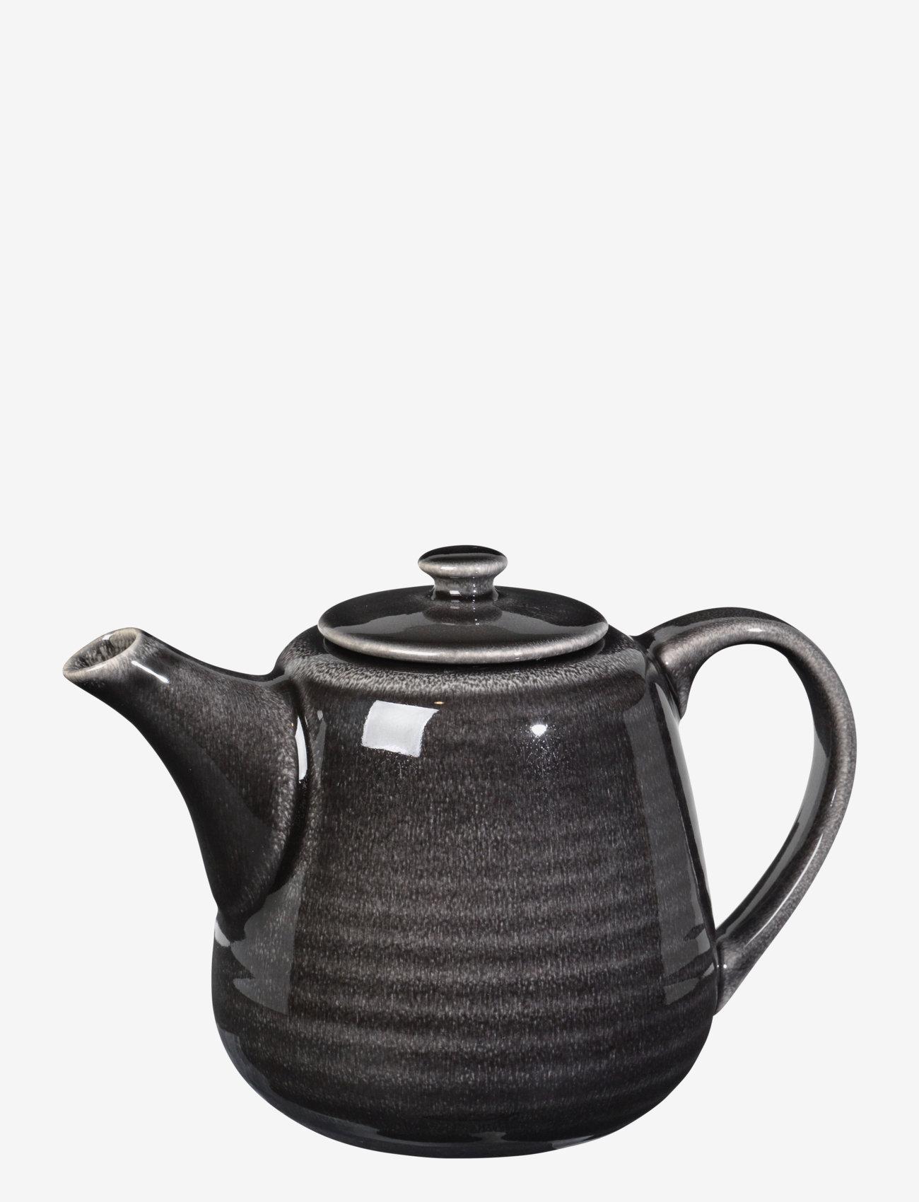 Broste Copenhagen - Tea pot Nordic coal - teepannut - charcoal - 0