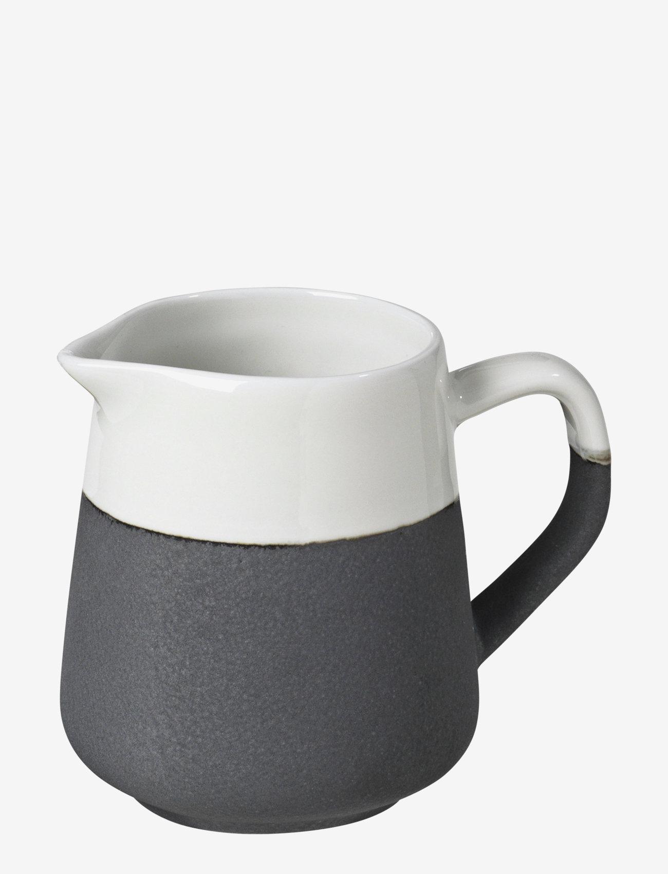Broste Copenhagen - Milk can Esrum - maitokannut - ivory/grey colour - 0