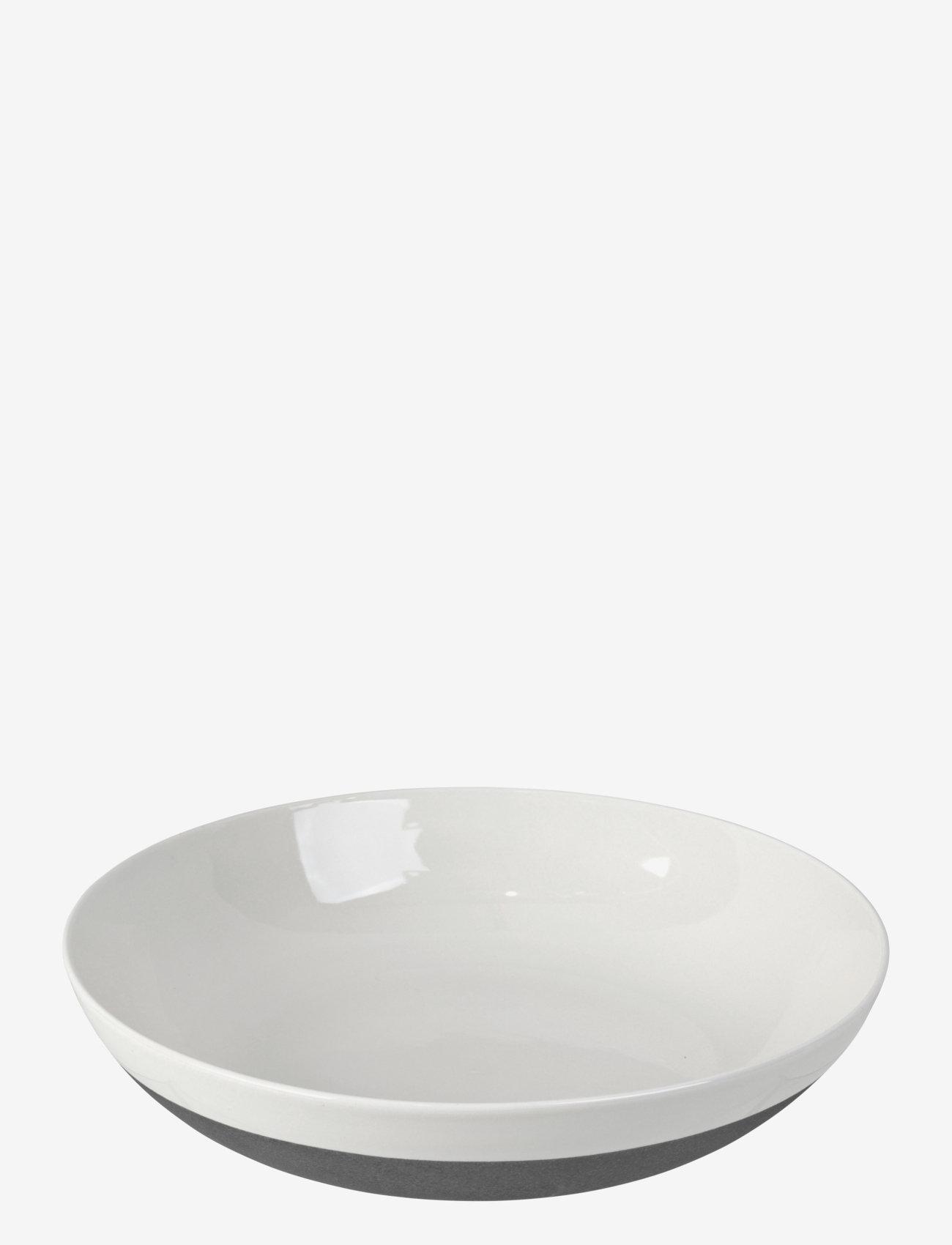 Broste Copenhagen - Salad plate Esrum - salaattikulhot - ivory/grey colour - 0