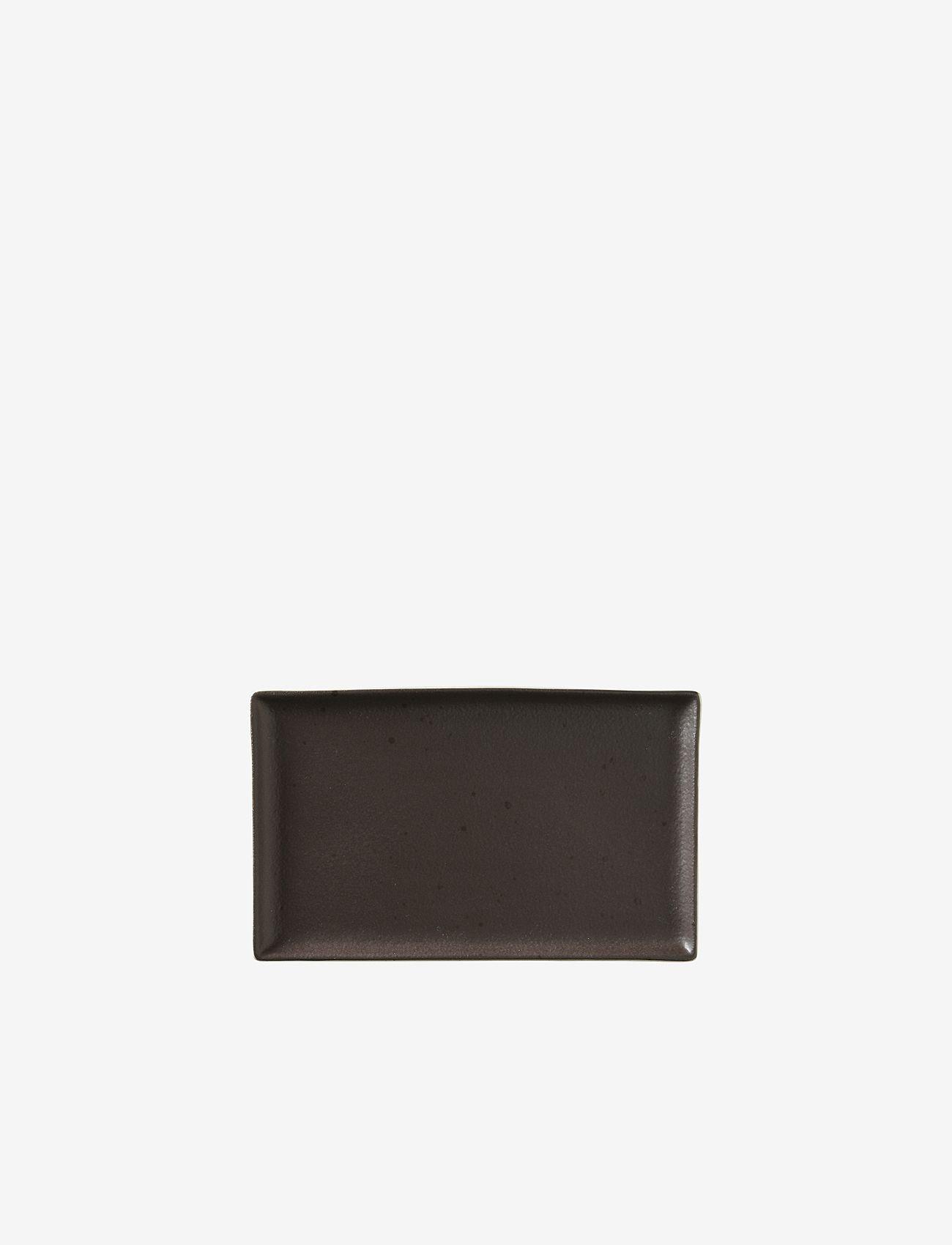 Broste Copenhagen - Plate Eli - serveringsfat - grey - 0