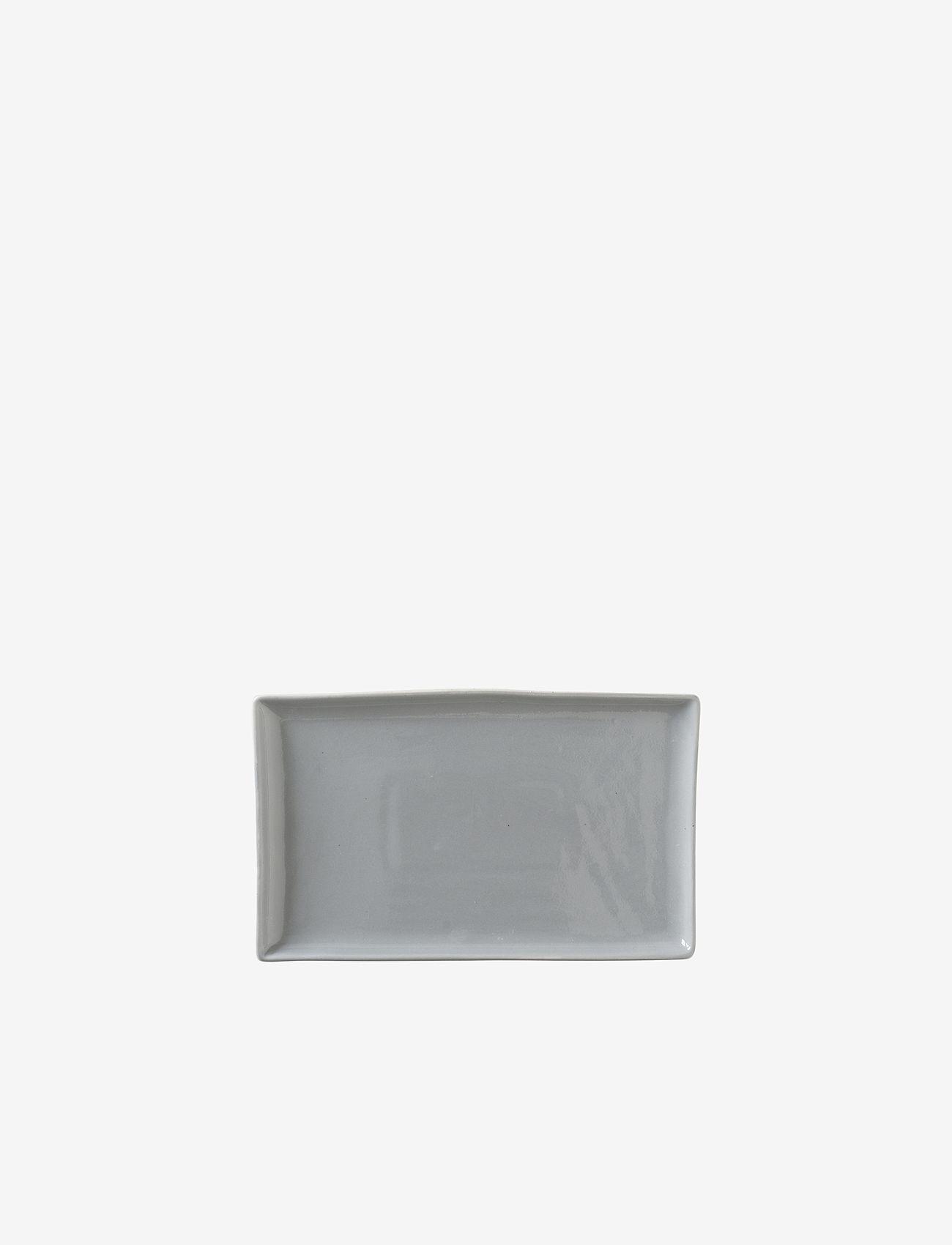 Broste Copenhagen - Plate Eli - serveringsfat - blue - 0