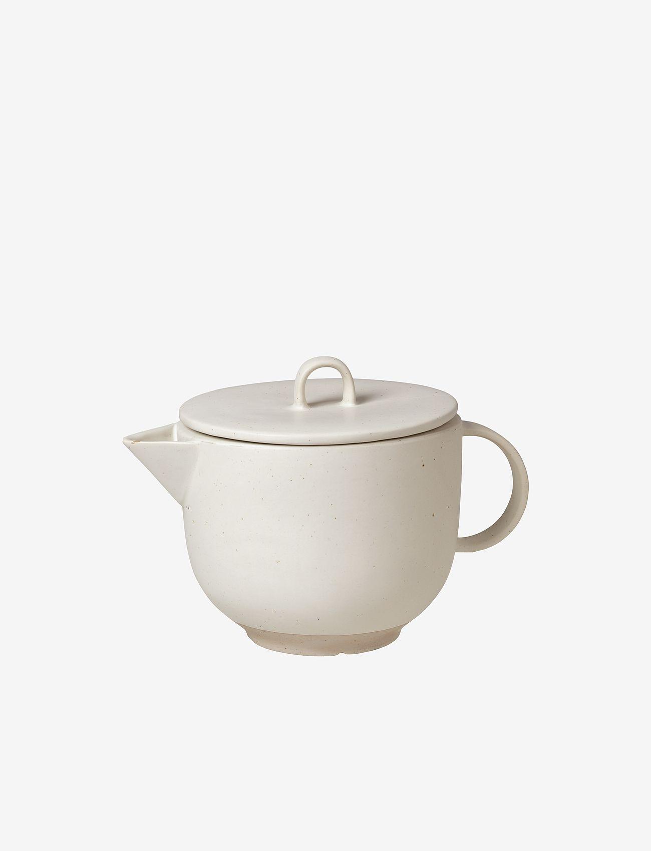 Broste Copenhagen - Tea pot Eli - teepannut - soft light grey - 0