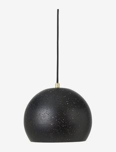 Ceiling lamp Lavas - pendler - black/brass finish