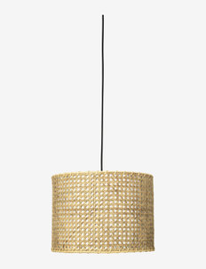 Ceiling lamp Ruben - pendler - brass/natural