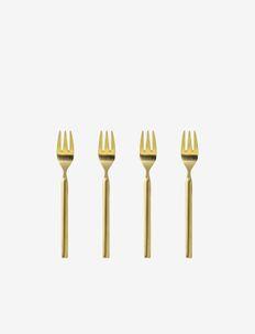 TVIS Cake fork - bestikksett - rose gold
