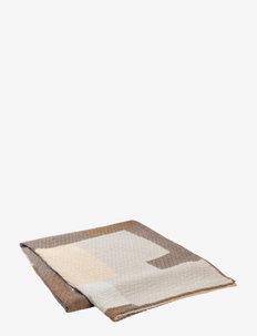 PATCH Beadspread - päiväpeitto - beige/brown