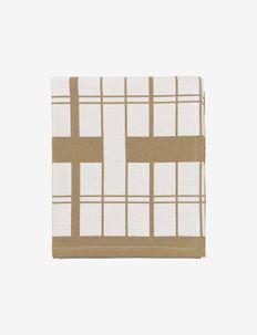 EARL Tablecloth - duker & løpere - rainy day/indian tan