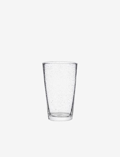 Glass tall Bubble - juomalasit - clear