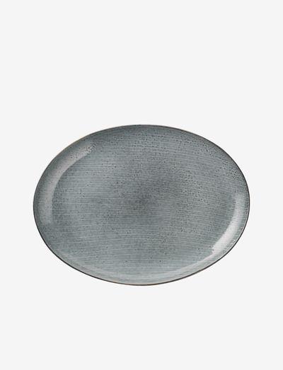 Plate oval Nordic Sea - ruokalautaset - nordic sea