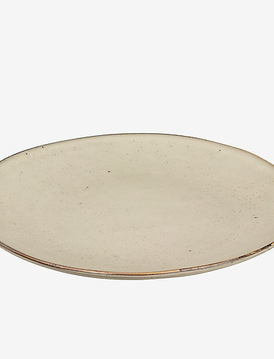 Dinner plate Nordic sand - ruokalautaset - nordic sand