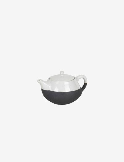 Tea pot Esrum - tekanner - ivory/grey colour