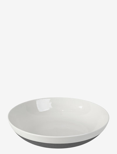 Salad plate Esrum - salatboller - ivory/grey colour