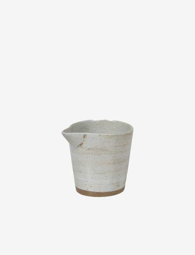 Bowl Grod - melkekanner - sand